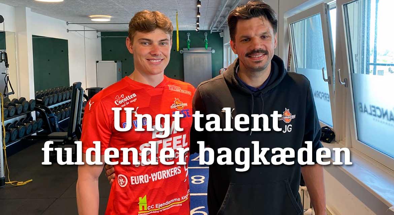 Read more about the article UNGT TALENT FULDENDER BAGKÆDEN