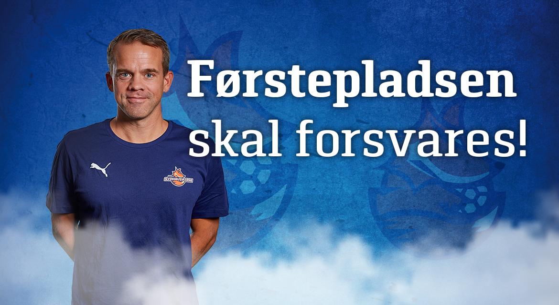 Read more about the article Førstepladsen skal forsvares!